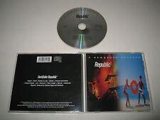 NEW ORDER/REPUBLIC (CENTREDATE CO 828413.2) CD ALBUM