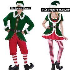 Traje Disfraz Elf Elfa Papá Noel Cosplay Elf Navidad Traje ELF001 - 2