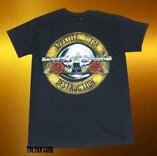 New Guns N Roses Logo Men's 1988 Appetite for Destruction GNR Vintage T-Shirt