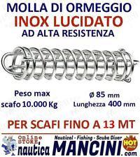 MOLLA PER ORMEGGIO ACCIAIO INOX + MOLLE OFFERTA 2PZ barca barche SCAFI FINO 13MT