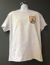 US Fish & Wildlife Service Dept of The Interior Gray Morale Short Sleeve T-Shirt