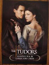THE TUDORS SEASONS 1, 2 & 3: PROMO CARD: UK PROM CARD