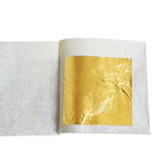 Comestible/Decoración Hojas Sueltas De Hoja De Oro - 24K - 2.5 cm X 2.5 Cm-Elige Cantidad