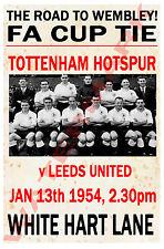 Tottenham Hotspur - Vintage Calcio Poster CARTOLINE - Scegli tra elenco