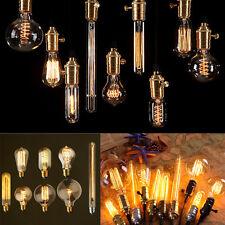 Retro Style E14 E27 B22 Vintage Filament 40W 60W Edison Bulbs Decorative Light
