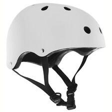 SFR Essentials Skateboard BMX Casque Blanc Brillant