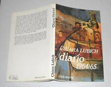 Chiara Lubich DIARIO 1964-1965 Città Nuova 1985 Focolarini Gen Rosso Gesù Cristo