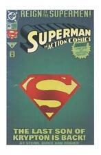 SUPERMAN Action Comics #687 (Jun 1993, DC) DIE CUT GREEN COVER