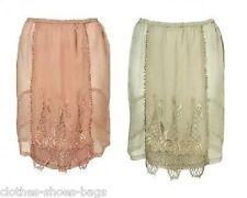 Topshop Pink Scallop Lace Slip Tulip Mini Party Short Skirt 6 8 10 12  £50 S4