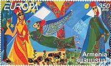 2010 Europa CEPT - Armenia - isolated stamp