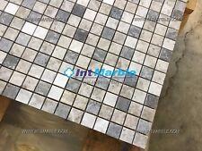 Marble Mosaic, Milano Polished Marble Mosaic Tiles Limestone, Marble Mosaic Tile