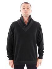 No Excess pull tricoté noir Col réchauffement de la planète modisch