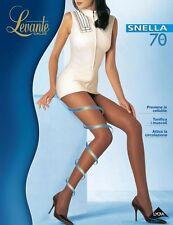 Collant RIPOSANTE compressione  calza LEVANTE snella 70 DEN nature-moka-nero
