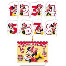 Mouse Minnie Candela Torta numero Party Festa di compleanno bambino