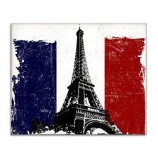 Paris French Flag Eiffel Tower Vinyl Sticker - SELECT SIZE