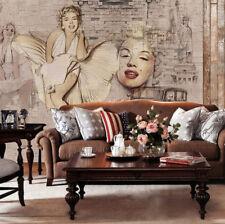 3D Marilyn Monroe 1 WallPaper Murals Wall Print Decal Wall Deco AJ WALLPAPER