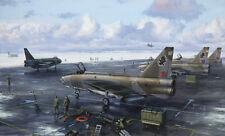 English Electric Lightning 11 Squadron 5 Squadron LTF RAF Binbrook Art Print
