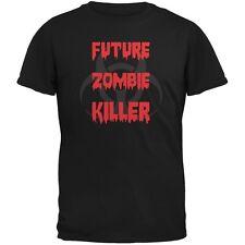 Future Zombie Killer Black Youth T-Shirt