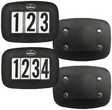 Hamag™ Leather Halter Number Holders (Pair)
