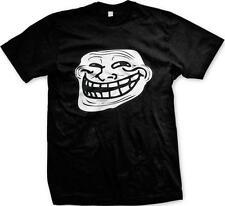 Troll Face Meme Internet Humor Joke Funny Nerd Geek Culture Mens T-shirt