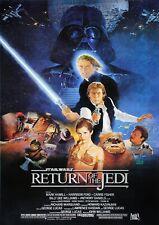 Return Of The Jedi Star Wars Movie Film Photo Print Poster Picture