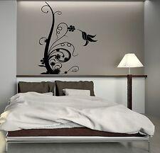 Wall Decal Beautiful Bird Flower Art Room Decoration Vinyl Stickers (ig3050)