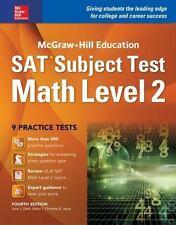 McGraw-Hill Education SAT Subject Test Math Level 1 4th Ed. Test Prep