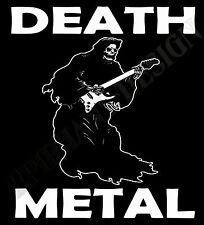 Death Metal T-Shirt Der Sensenmann Heavy Metal Rock Gig Original Design Hart