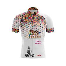 Kids Cycling Jersey Bicycle Sportswear Top Clothing Boys/Girls multi dots