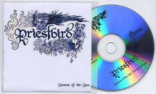 PRIESTBIRD Season Of The Sun 2007 UK 2-trk promo test CD CBGBs
