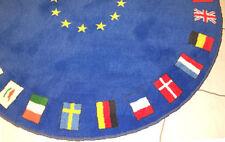 Flaggenteppich europäischen Flaggen Europäische Union  EU Flaggen Teppich rund