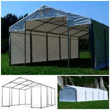LAGERZELT Pavillon 4x6-8x12m PVC Lager GARAGENZELT PVC ganzjährig STABIL NEU
