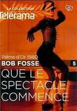 19509 // QUE LE SPECTACLE COMMENCE PALME D'OR 1980 BOB FOSSE DVD EN TBE