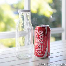 20 juice / sauce bottles - 500ml - White/ black/ gold/ silver lids - 19.2cm tall
