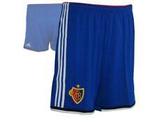 adidas FC Basel Home Short FCB Fußball Sporthose blau Gr.M - XXL Schweiz