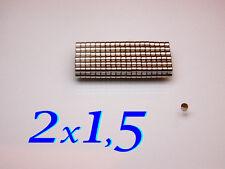 2x1,5mm magneti neodimio VARIE QUANTITA' FIMO CERNIT MODELLISMO CALAMITE MAGNETE