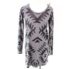 Grace camisa larga camisa vestido t.xs 34 algodón gris oscuro NP 89 NUEVO