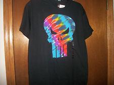 Marvel Tye Dye The Punisher logo pattern t-shirt Medium or XL NWT