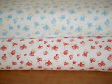 MODA Patchworkstoff,SWEET BABY by Abi Hall, Flanell, Blumen, 2 Farben