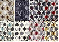 Modern Geometric Design Rug Hexagon 100% Acrylic Hand Tufted Large Mat Hong Kong