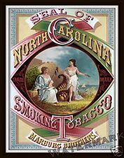 Wall Art  Marburg Brothers Tobacco Advertisement  North Carolina 1879   11x14