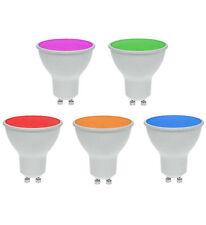 PROLITE Ampoule LED GU10 7W 120° magenta / rouge / ambre / vert / bleu