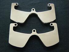CNC HEAD GUARD PROTECTORS MOTO GUZZI V35 V50 V65 V75 PLAIN NO ENGRAVING
