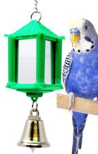 36408 Bonka Bird Toys Box Mirror cockatiel parakeet toy canary cages budgie