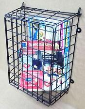 Black Steel Mesh Letter Post Catcher Door Box Cage Basket Holder Guard Letterbox