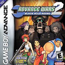 Advance Wars 2: Black Hole Rising - Game Boy Advance GBA Game