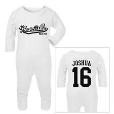 NEWCASTLE Football Personalised Baby Sleep Suit Romper