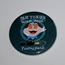 DISNEY MAGNET Mr Toad Fantasyland Matterhorn Pirate Dumbo Vintage Disneyland Art