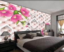 Dense Gradual Lily 3D Full Wall Mural Photo Wallpaper Printing Home Kids Decor