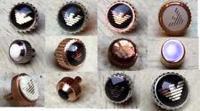 Crown / Winder Rose Gold, Silver, Black, Fits Emporio Armani Watch Ceramica